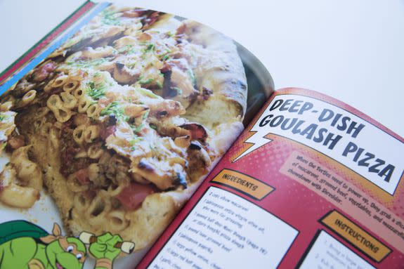 Deep-dish Goulash Pizza