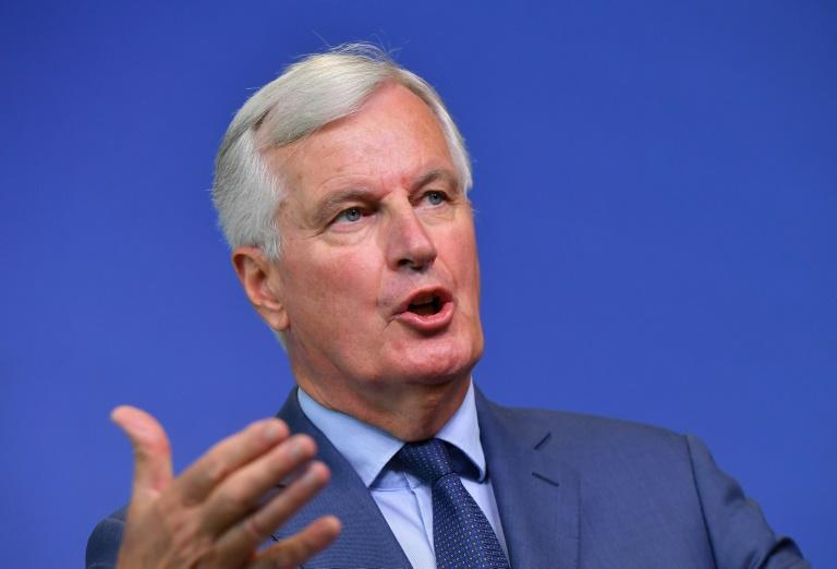 """EU chief Brexit negotiator Michel Barnier said he believed reaching a  divorce deal with Britain """"within six or eight weeks"""" was """"realistic"""""""