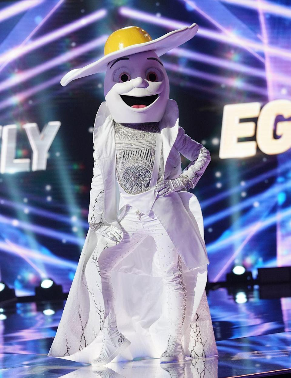 """<p>Code names, like Fox, Night Angel and Unicorn are used to describe the alter egos of contestants. Since <a href=""""https://www.goodhousekeeping.com/life/entertainment/a30677487/masked-singer-season-3-taping-experience/"""" rel=""""nofollow noopener"""" target=""""_blank"""" data-ylk=""""slk:no one knows their real identity"""" class=""""link rapid-noclick-resp"""">no one knows their real identity</a>, the contestants are only referred to by this name until they're unmasked.</p>"""