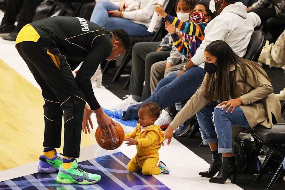NBA Star Giannis Antetokounmpo Is Also an All-Star Dad ...