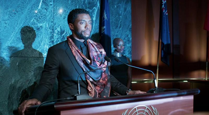 Chadwick Boseman as T'Challa, king of Wakanda (credit: Marvel Studios)