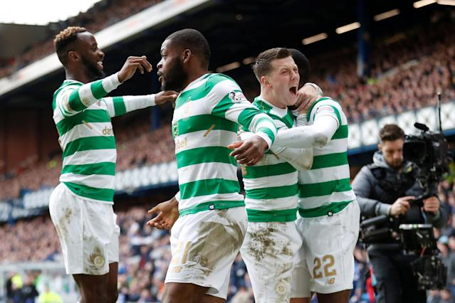 Rangers 2 Celtic 3: Tactical gamble pays off for Brendan Rodgers as 10-man Bhoys win Old Firm Derby at Ibrox