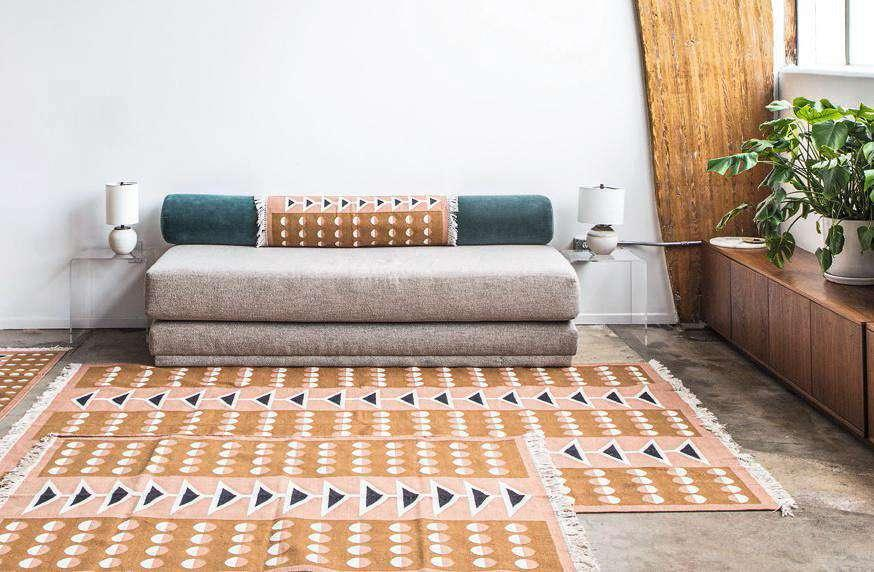 "Tapis ""Swallowtail"", Block Shop, à partir de 107 €."