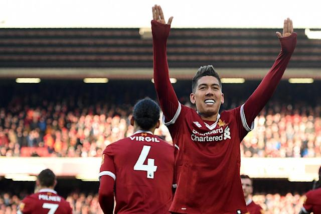 Liverpool 4 West Ham 1: Mohamed Salah stars to sink Hammers at Anfield
