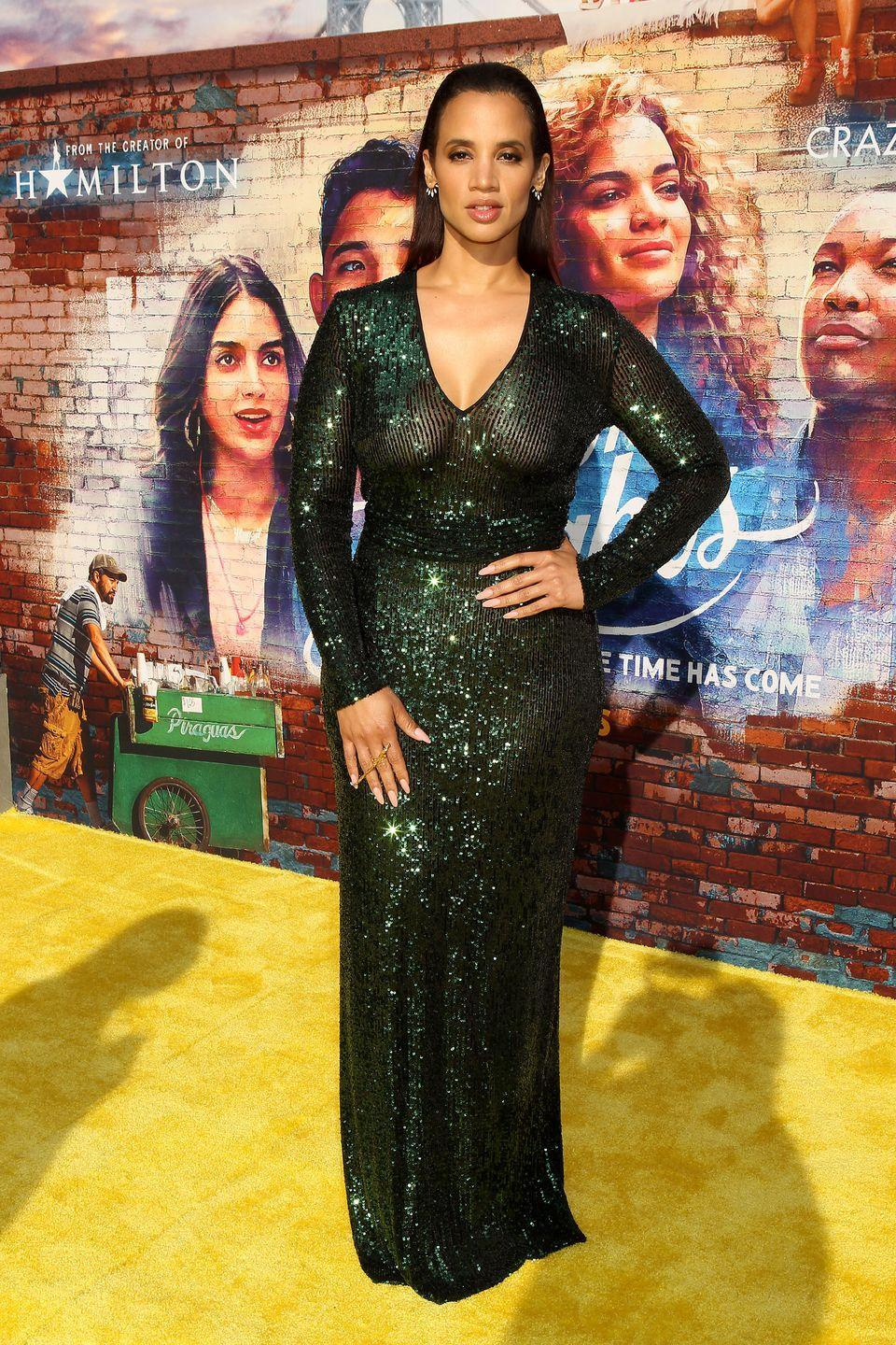 """<p>We were introduced to Dascha Polanco in the Netflix series <em>Orange is the New Black</em>, and subsequently <em>When They See Us</em>. The star continues to be part of important representation stories now with the <em>Heights</em>. She plays Cuca, who is rarely seen in the film without her friends Daniela and Carla—bringing to life a fiery, hilarious trio. """"We're like a really balanced triple threat,"""" she told <em>Vanity Fair</em>. In between projects, keep up with Polanco through her glamorous Instagram page.</p><p><strong>Follow her on Instagram</strong>: @sheisdash</p>"""