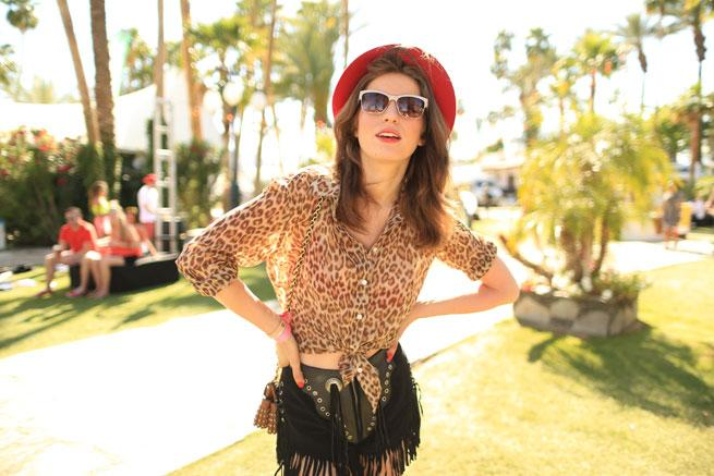 Festival Fashion: Tali Lennox Wears Guess's 30th Anniversary Collection at Coachella!