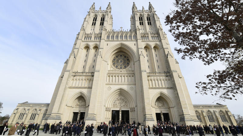 The Washington National Cathedral is fighting back against President DonaldTrump's assertion that he had to approve the funeral arrangements for Sen