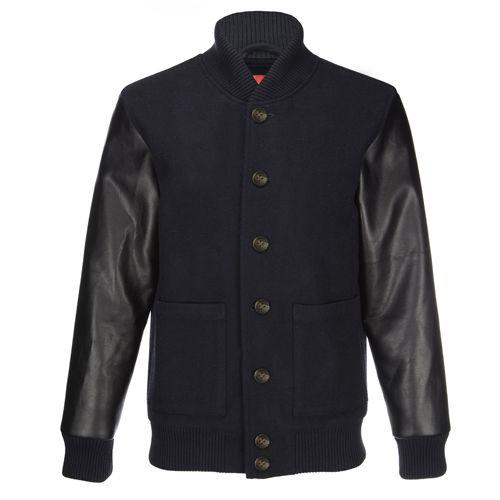 """<p><a rel=""""nofollow"""" href=""""https://www.archiefoal.com/collections/mens-outerwear/products/archie-foal-womens-errol-jacket-in-navy"""">SHOP</a></p><p>Fancy a varsity jacket but still concerned you look like a One Direction tribute act? No fear! Archie Foal's navy iteration is Top 40 stuff, but just in a very grown up, much cooler way.</p><p><em>Erroll Jacket, £395, <a rel=""""nofollow"""" href=""""https://www.archiefoal.com/collections/mens-outerwear/products/archie-foal-womens-errol-jacket-in-navy"""">archiefoal.com</a></em></p>"""