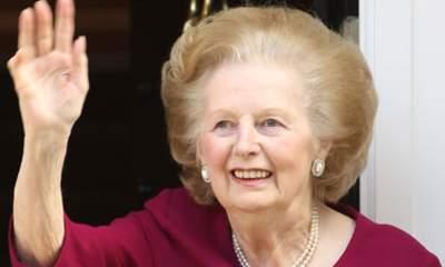 Baroness Thatcher In Hospital After Surgery
