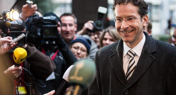 """<b class=""""credit"""">Geert Vanden Wijngaert, AP</b>Dutch Finance Minister and leader of the eurogroup Jeroen Dijsselbloem says a deal to bail out Cyprus banks with a tax on depositors isn't yet dead, despite a unanimous vote by Cypriot lawmakers against such a levy this week."""