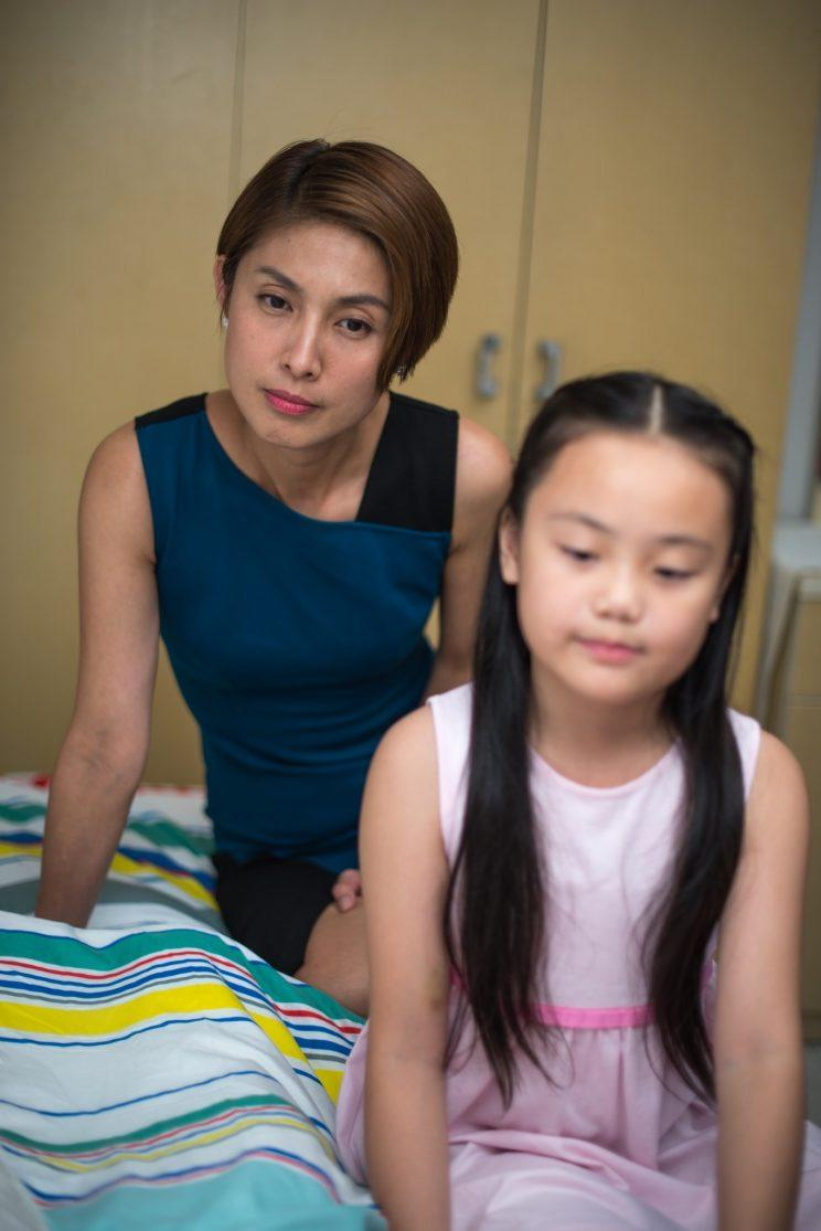 """Chae Lian (Lina Ng) and her daughter Hilary (Victoria) in """"Lion Mums"""" Season 2. (Ochre Pictures)"""
