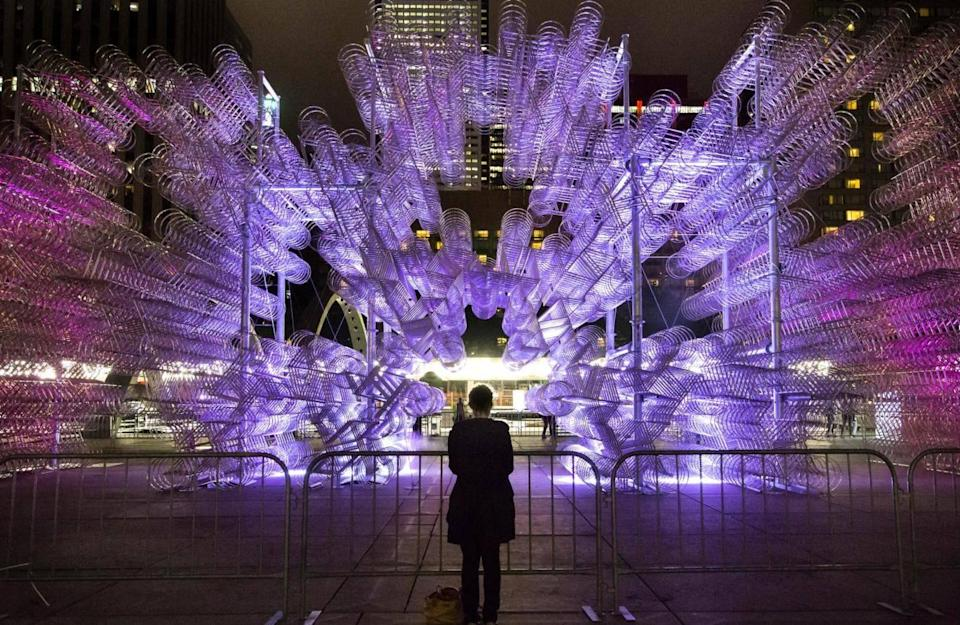 The Nuit Blanche arts festival lights up the city (Tourism Toronto)