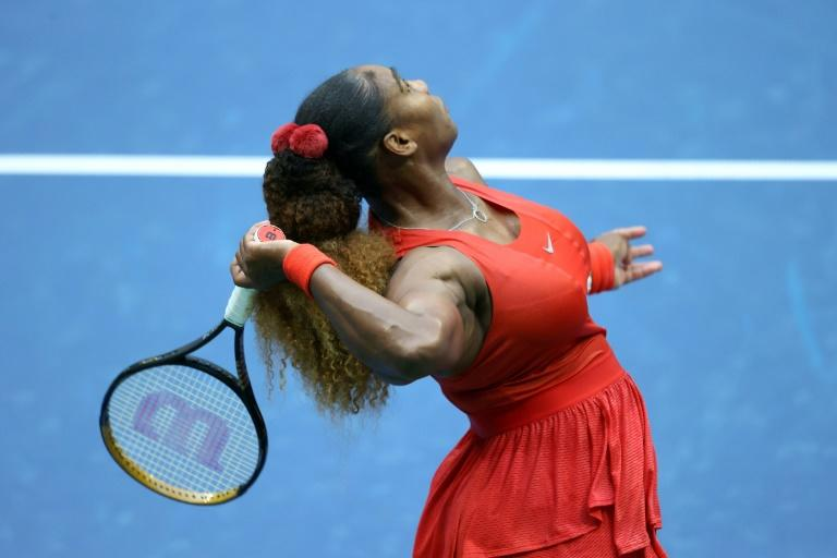 Serena shrugs off record-chase after US Open first round win