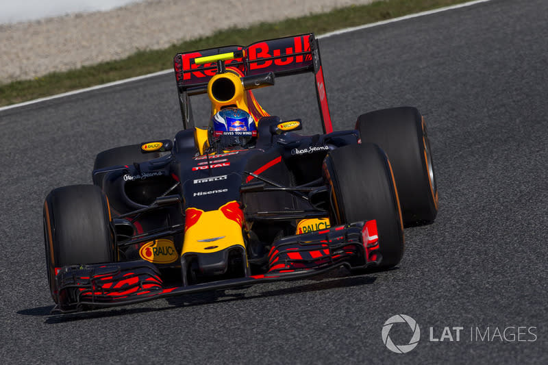"2016: Маx Verstappen, Red Bull-TAG Heuer RB12<span class=""copyright"">Sutton Motorsport Images</span>"