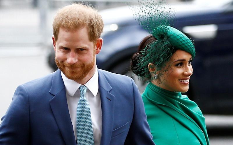 The couple attended their last official engagement in the UK earlier this month - Henry Nicholls/REUTERS