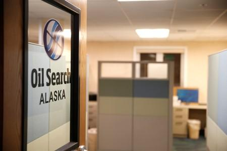 A view of the Oil Search office in Anchorage