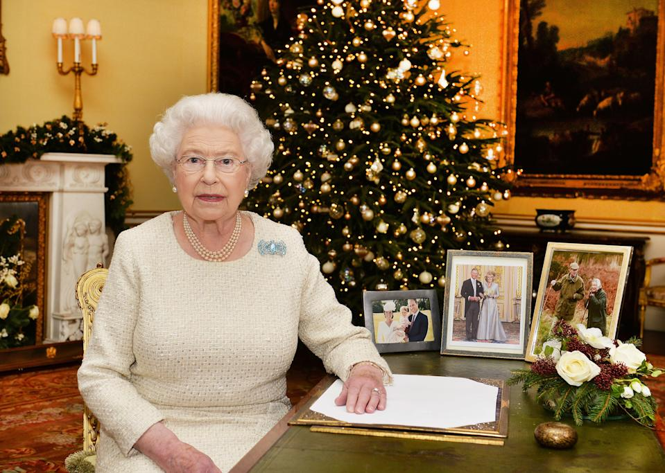 The Queen rewards her staff with a Christmas gift each year [Photo: Getty]