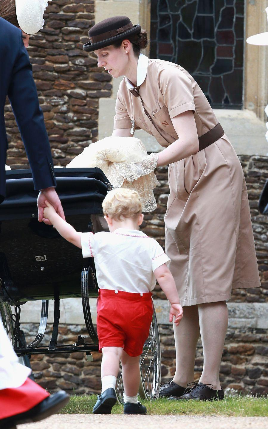 """<p>Since royal children grow up with two full-time working parents, a nanny seems necessary. Even though the royals currently raising young children are reportedly more hands-on than past generations, the Crown employs experts like <a href=""""https://www.thesun.co.uk/fabulous/6123025/royal-nanny-maria-borrallo-kate-middleton-children-baby/"""" rel=""""nofollow noopener"""" target=""""_blank"""" data-ylk=""""slk:Maria Borrallo"""" class=""""link rapid-noclick-resp"""">Maria Borrallo</a> for assistance.</p>"""