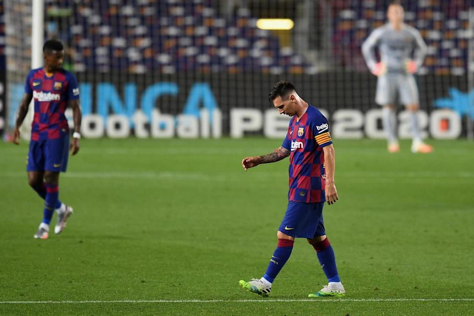Messi has a year left on his remaining deal. (Getty Images)