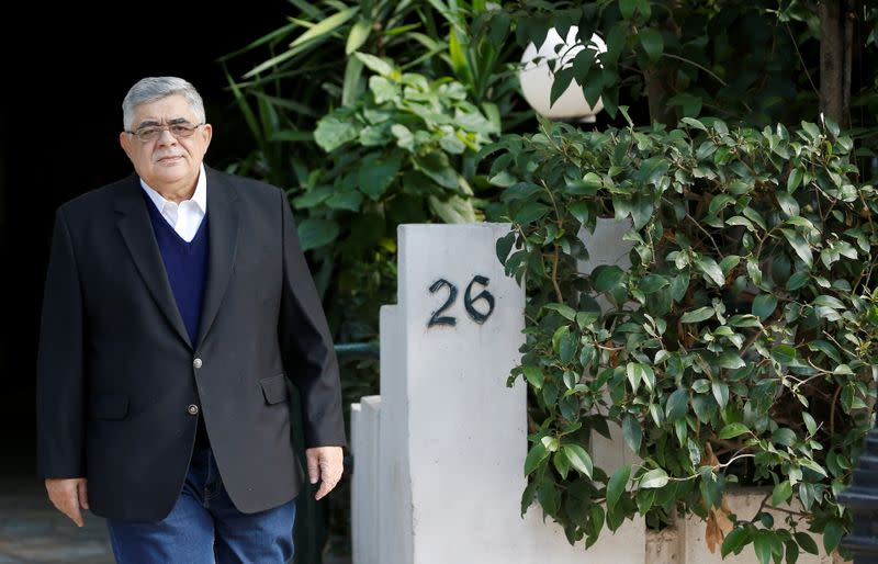 Trial of leaders and members of the Golden Dawn far-right party, in Athens