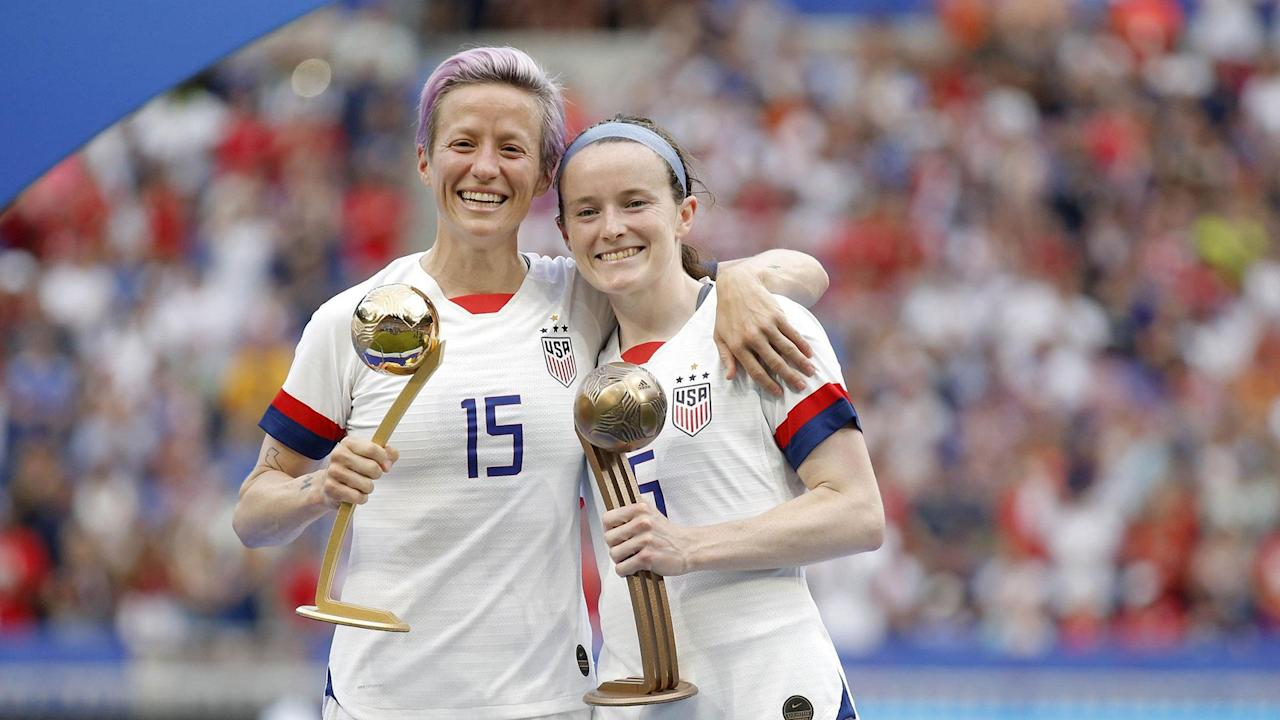 Rose Lavelle, Megan Rapinoe and USWNT continue World Cup