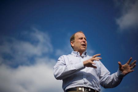 Democratic candidate Daylin Leach for Pennsylvania's 7th congressional district speaks during an interview in King of Prussia, Pennsylvania, U.S., December 1, 2017. Picture taken December 1, 2017. REUTERS/Mark Makela