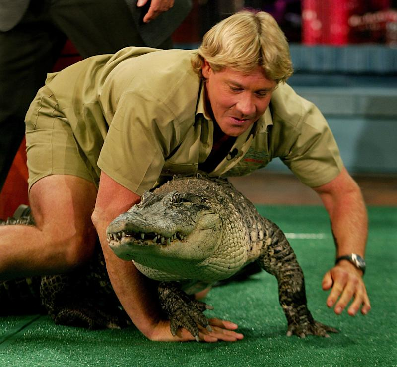 Steve Irwin, who was famously known as the 'Crocodile Hunter', was known for his wildlife conservation work till his tragic death in September 2006. (Photo: Ken Hively via Getty Images)