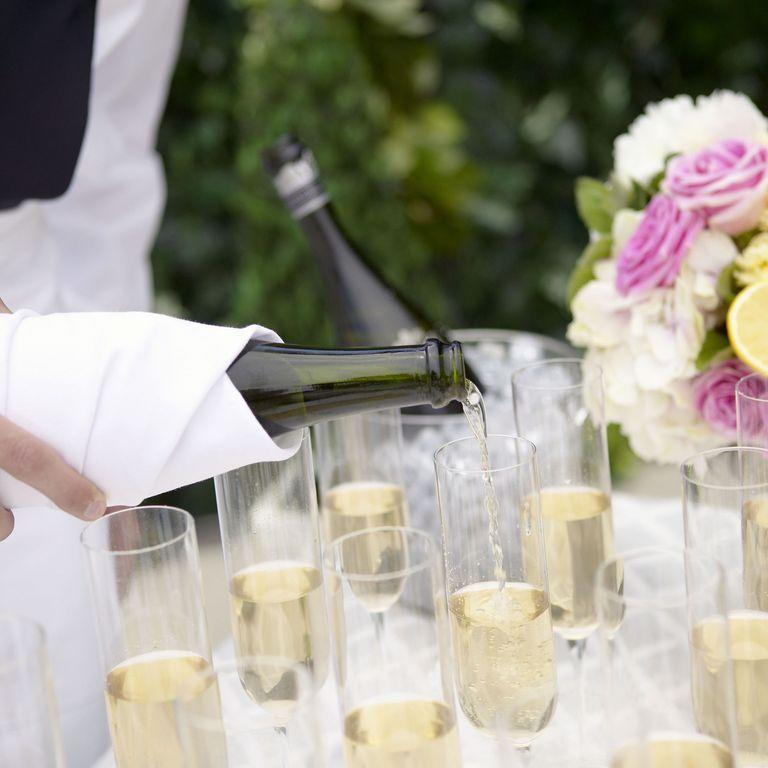 "<p>This goes without saying: Nobody has time for a drunk party guest — and the open bar isn't to blame. ""We all love an open bar, but as a guest it's important to understand your limits so you don't embarrass yourself or the couple,"" says Hayden. So, <a href=""https://www.goodhousekeeping.com/food-recipes/cooking/tips/g1691/uncork-champagne-bottle/"" rel=""nofollow noopener"" target=""_blank"" data-ylk=""slk:drink responsibly and cheers"" class=""link rapid-noclick-resp"">drink responsibly and cheers</a> to the happy couple! </p>"
