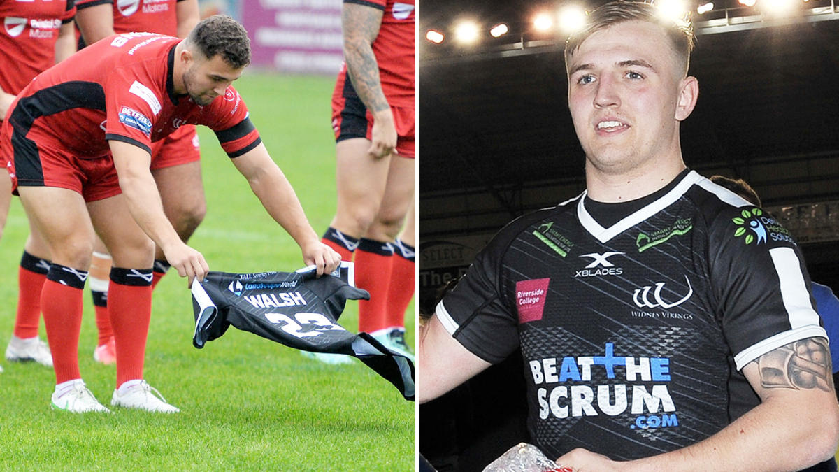 Rugby league world in mourning after 23-year-old's death
