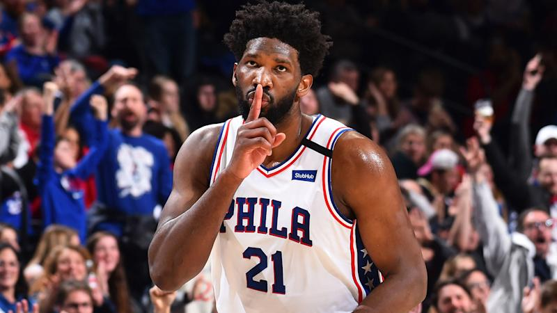 A none-too-subtle Instagram post from Joel Embiid has left Philadelphia 76ers fans up in arms. (Photo by Jesse D. Garrabrant/NBAE via Getty Images)