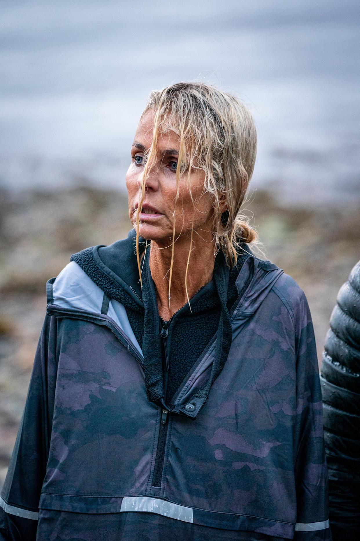 Ulrika Jonsson is one of the 12 celebrities taking part in Channel 4's Celebrity SAS: Who Dares Wins (Channel 4)