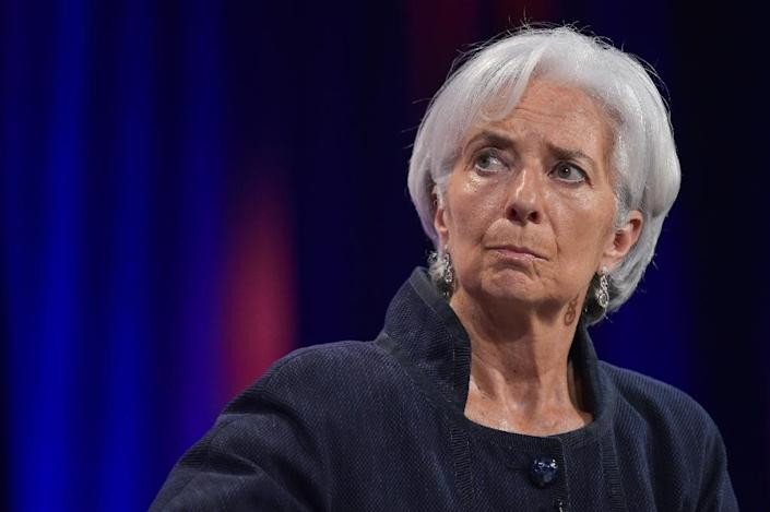 International Monetary Fund managing director Christine Lagarde will be at this week's meeting in Germany (AFP Photo/Mandel Ngan)