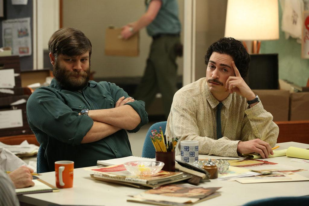 "Stan Rizzo (Jay R. Ferguson) and Michael Ginsberg (Ben Feldman) in the ""Mad Men"" episode, ""Man With a Plan."""