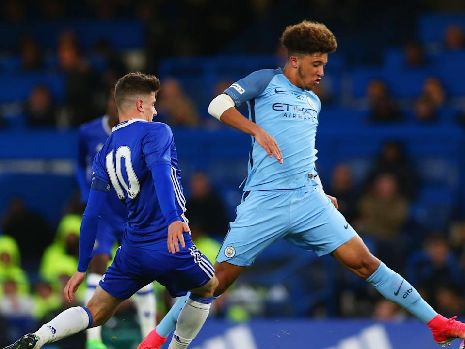 Former Manchester City youngster Jadon Sancho (Getty Images)