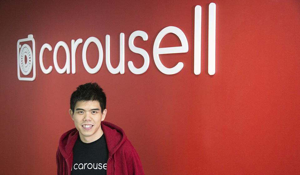 Siu Rui, founder and chief executive officer of Carousell, poses for a photograph in Singapore, which is one of the region's most popular virtual flea markets. Photo: Bloomberg
