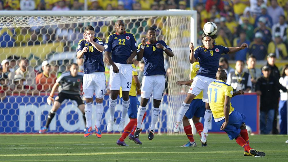 Ecuador vs Colombia Eliminatoria a Brasil 10062012