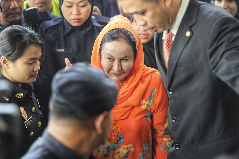 Malay Mail understands the charges are related to Datin Seri Rosmah Mansor's alleged involvement in the Sarawak solar energy project said to have been approved by her husband, former prime minister Datuk Seri Najib Razak. . ― Picture by Shafwan Zaidon