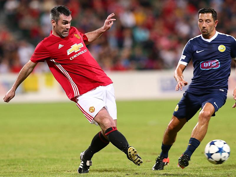 Gillespie has reportedly been told he will not play in United's next legends game: Getty