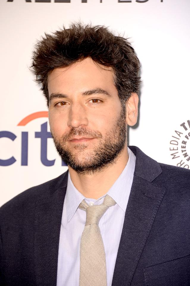 "HOLLYWOOD, CA - MARCH 15: Actor Josh Radnor arrives at The Paley Center For Media's PaleyFest 2014 Honoring ""How I Met Your Mother"" Series Farewell at Dolby Theatre on March 15, 2014 in Hollywood, California. (Photo by Frazer Harrison/Getty Images)"