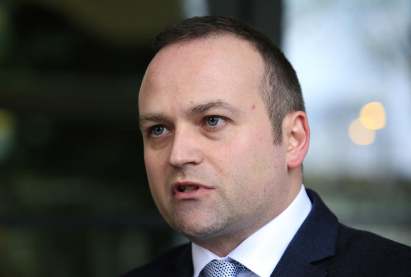 Labour MP Neil Coyle speaks to the media outside Portcullis House, London, as party leader Jeremy Corbyn is expected to finalise a reshuffle of his top team after late-night talks with key members of the shadow cabinet ended without any announcement.