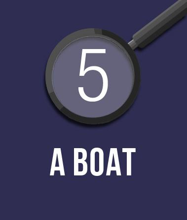 5. A Boat.