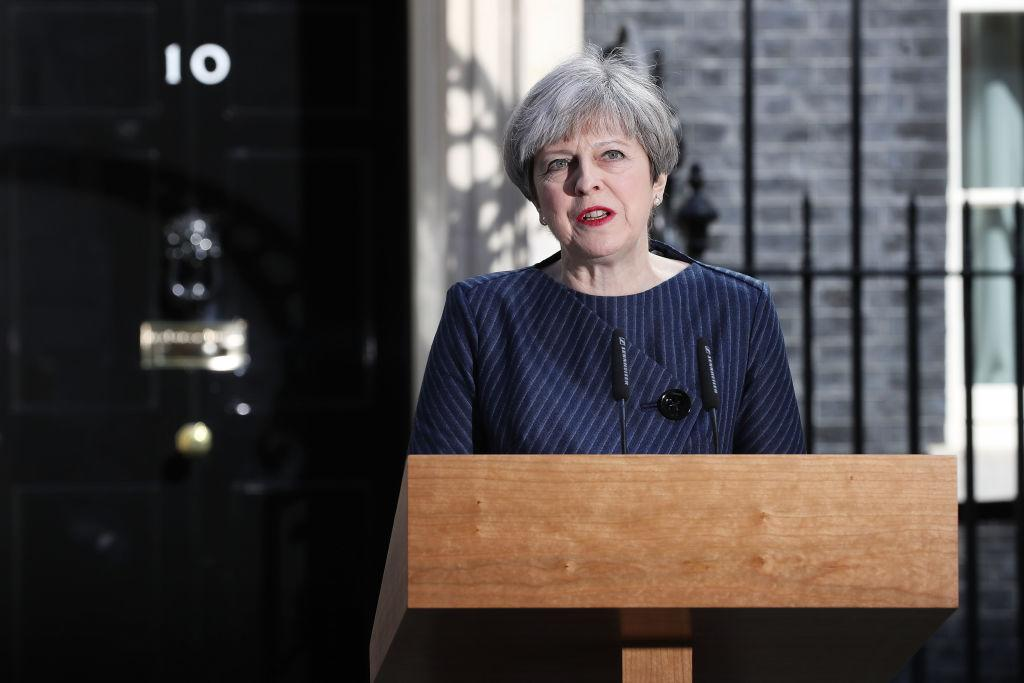 <p>Prime Minister Theresa May called a general election for the United Kingdom to be held on June 8this week. (Dan Kitwood/Getty Images) </p>