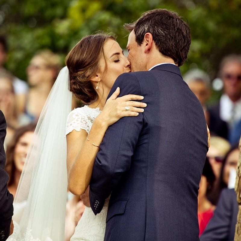 """<p>Just because Meyers and Ashe aren't the splashiest couple around town, doesn't mean they aren't one of the happiest couples. <em>The Late Night With Seth Meyers</em> star and Ashe, a human rights lawyer, wed over Labor Day weekend in 2013 in Martha's Vineyard. They <a rel=""""nofollow"""" href=""""https://www.yahoo.com/celebrity/seth-meyers-and-wife-alexi-1395078859202614.html"""" data-ylk=""""slk:have welcomed one child;outcm:mb_qualified_link;_E:mb_qualified_link;ct:story;"""" class=""""link rapid-noclick-resp yahoo-link"""">have welcomed one child</a> together since tying the knot. (Photo: <a rel=""""nofollow noopener"""" href=""""https://www.instagram.com/p/sajgmHtsgm/?taken-by=sethmeyers"""" target=""""_blank"""" data-ylk=""""slk:Seth Meyers via Instagram"""" class=""""link rapid-noclick-resp"""">Seth Meyers via Instagram</a>) </p>"""