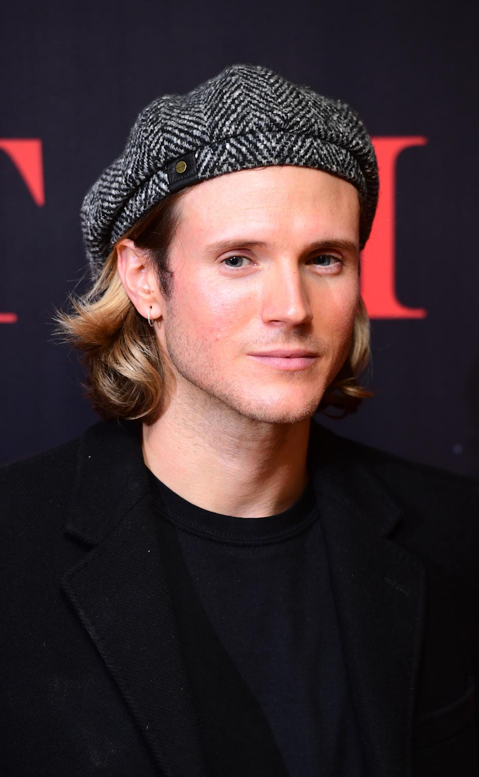 Dougie Poynter attending a screening of The Host at the Mayfair Hotel in London. Picture date: Monday January 6, 2020. Photo credit should read: Ian West/PA