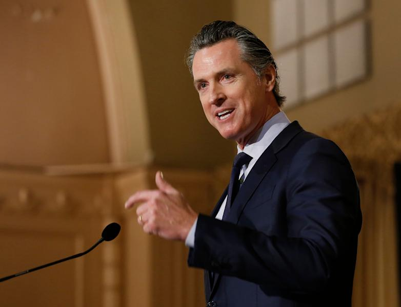 """Speaking to over 100 tribal leaders, Gavin Newsom also announced the creation of a """"Truth and Healing Council."""""""