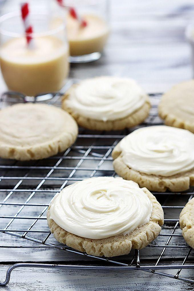 "<p>Then instead of dunking cookies in milk, dunk them in eggnog and get really meta with it.</p><p>Get the recipe from <a href=""http://lecremedelacrumb.com/2014/11/eggnog-sugar-cookies.html"" rel=""nofollow noopener"" target=""_blank"" data-ylk=""slk:Creme de la Crumb"" class=""link rapid-noclick-resp"">Creme de la Crumb</a>.</p>"
