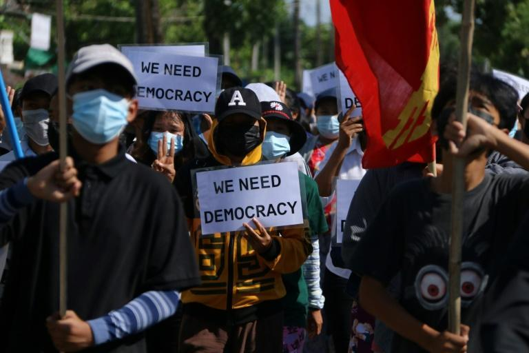 Myanmar's military has stepped up its use of lethal force to quash mass demonstrations against a February 1 coup which ousted civilian leader Aung San Suu Kyi