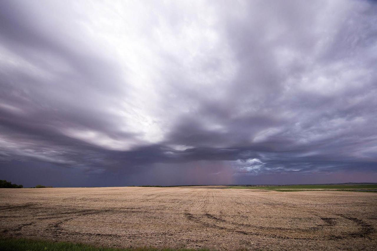 <p>The rare cloud formation, known as <em>undulatus asperatus,</em> is the newest cloud type in over 60 years.(Photo: Mike Olbinski/Caters News) </p>