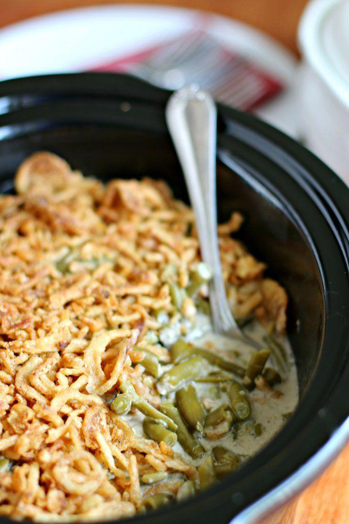 """<p>Fact: This is the world's easiest—and tastiest—green bean casserole recipe.</p><p><strong>Get the recipe at <a href=""""http://www.themagicalslowcooker.com/2013/12/02/slow-cooker-green-bean-casserole/"""" rel=""""nofollow noopener"""" target=""""_blank"""" data-ylk=""""slk:The Magical Slow Cooker"""" class=""""link rapid-noclick-resp"""">The Magical Slow Cooker</a>.</strong> </p>"""