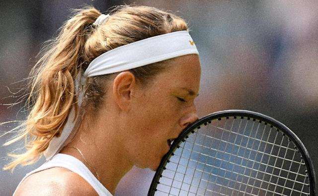 Victoria Azarenka: Beautiful tennis (AFP Photo/Oli SCARFF)